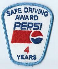 Pepsi Safe Driving Award 4 Years. 3-1/2X3X2 in