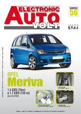 Manuale diagnosi elettrica ed elettronica auto-Electronic Auto Volt-Opel Meriva