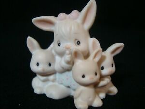 Precious Moments-Bunch of Bunnies-Mini Nativity Addition-Suspended 1993