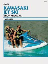 1992-1994 Kawasaki JS440SX JS550SX JF650S2 JH750SS Jet Ski Repair Manual W802