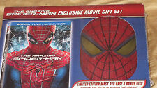 The Amazing Spiderman Exclusive Movie Gift Set Bluray DVD Ultraviolet Mask Case