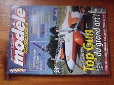 $$a1 Revue modele magazine N°621 Plan encarte Skybolt  Top Gun  Flip 3D  T-6