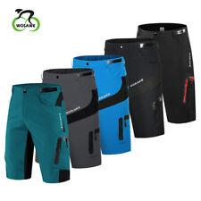 Mtb горный велосипед мужские просторные велосипедные шорты карманы на молнии свободные повседневные штаны