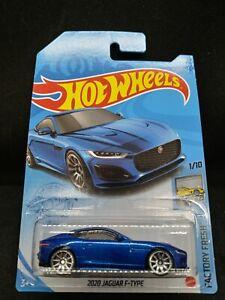 2021 Hot Wheels 2020 Jaguar F-Type Blue