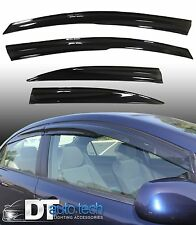 Smoke 2012-2015 Civic Sedan Window Visor Vent Shade Rain/Sun Guard Deflectors