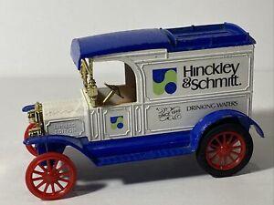A3-53 ERTL 1:25 SCALE DIE CAST BANK - 1913 FORD MODEL T - HINCKLEY & SCHMITT