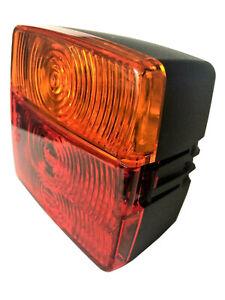 Rückleuchte Blinker Positiosleuchte Trailer Anhänger Traktor mit Glühbirnen 12V