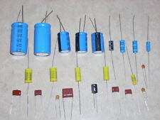 ROCKOLA JUKEBOX MONO AMP CAP CAPACITOR REBUILD KIT FOR  MODELS 1468 AND 1475