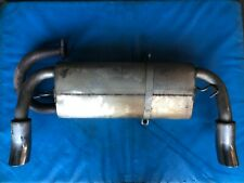 MG F Exhaust Back Box/Rear Silencer (Milltek MSMG001 Stainless) 1996 - 2000