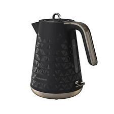 Morphy Richards 3kw 1.5l Black Prism Jug Kettle 108251