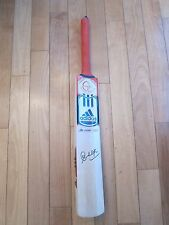 Sachin Tendulkar Signed Cricket Bat India PROOF Cricket All Stars