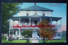 PYNE HOTEL, Michillinda, White Lake, Whitehall, Michigan postcard, circa 1914