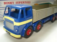 Atlas Dinky Supertoys No.934 Blue Leyland Octopus 8 wheel Wagon Mint / Boxed