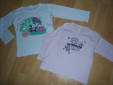 Lot 2 tee-shirts blanc + rose 3 ANS pour fille