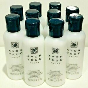 Avon true color eye make up remover lotion set of  10
