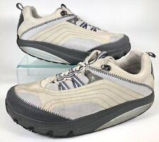 "MBT ""Rocker"" Athletic Shoes Chapa Silver Beige Orthodic Inserts Men's US 11.5"