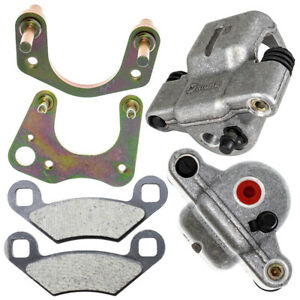 Front Left Right Brake Caliper Pad Set for Pair Polaris Outlaw 500 1911048