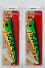 """Creek Chub I6600JP02 5/"""" Knuckle Head 1-1//2 Oz Black//Red Eye 14680"""