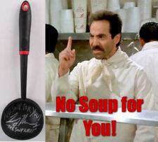 "Larry Thomas Signed Ladle ""No Soup For You!"" & ""The Soup Nazi"" (JSA) Seinfeld"