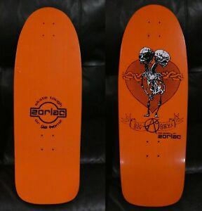 NOS Zorlac Big Boys Reissue Skateboard - Orange #1 - Circa 2005-2007 - Tim Kerr