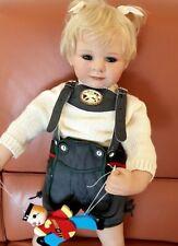 Krabbelbaby Baby Anna von Susan Lippl aus Vinyl, Zertifikat, top Zustand