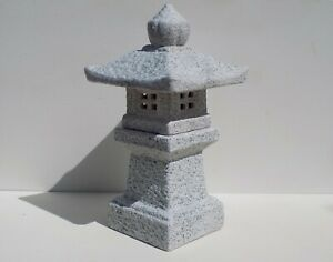 "9.5"" Mitsukai Asian Ceramic Pagoda Lantern Japanese Bonsai Garden Decor 76-1"
