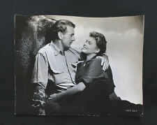 Original Vintage 1943 INGRID BERGMAN GARY COOPER 7X9 B&W Press Wire Photo A329