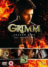 "Grimm: Season Series 5 DVD New & Sealed R4 ""on sale"" for limited time"