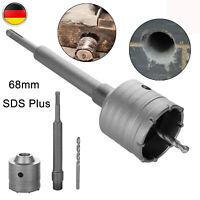 Bohrkrone Dosenbohrer SDS Plus 85 mm Durchmesser komplett f/ür Bohrhammer ohne Verl/ängerung