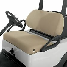 CLASSIC ACCESSORIES FAIRWAY GOLF CART Mesh Bench Seat Cover Khaki Golf Buggy NEW