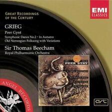 Sir Thomas Beecham - Grieg Peer Gynt Etc (NEW CD)
