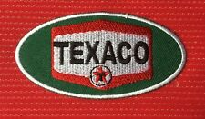 TEXACO MOTOR OIL GAS CAFE RACER BADGE IRON SEW ON PATCH