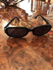 Vintage Emanuel Ungaro Sunglasses Black Rectangular