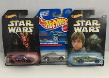 Hot Wheels Porsche Carrera #829 Plus Bonus 2 Star Wars Cars. Total Lot Of 3