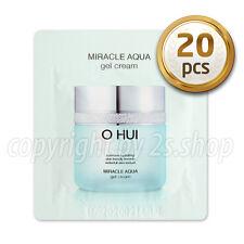 [O HUI] Miracle AQUA Gel Cream 1ml x 20pcs OHUI Hydrating Moisturizers