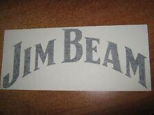 JIM BEAM - VINYL STICKER - IN BLACK - NEW