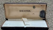 VINTAGE COLLECTABLE SHEAFFER FOUNTAIN PEN BOX FOR 1-3 PENS