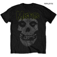 Official T Shirt MISFITS Crimson Fiend Skull  'Vintage Classic' All Sizes