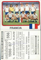 CALCIATORI PANINI 1986/87*FIGURINA STICKER N.556- FRANCIA