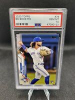 BO BICHETTE 2020 TOPPS ROOKIE #78 PSA 10 GEM MINT BLUE JAYS RC QTY