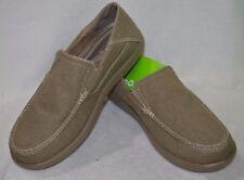 Crocs Santa Cruz 2 Men US 11 Gray Loafer Pre Owned 1847