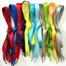 2cm Plats Soie Lacets Schoelaces Chaussure Cordon pour Chaussures De Sport Neuf