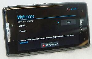 "Motorola Verizon Droid RAZR XT912 Android Smart Cell Phone PURPLE 4.3"" Screen 3G"