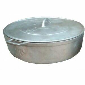 100% Jamaican Dutch (Dutchie) Cooking Pot. Real Aluminum pot from Jamaica