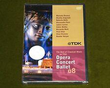 Opera Concert Ballet 08 Compilation Alvarez Argerich Bolle Ferri Tdk Dvd New