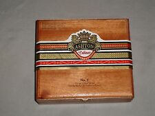 ASHTON CABINET NUMBER 7 WOODEN CIGAR BOX