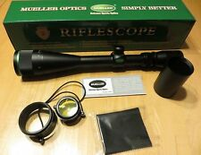 Mueller 6-18x44 AO Custom Reticle Rifle Scope Hunting Sniper Tactical Gun
