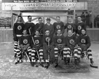 WCHL 1926 Edmonton Eskimos Hockey Team Picture Black & White 8 X 10 Photo Pic