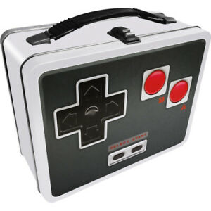 Old School Controller  Metal Lunch Box