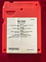 Ray Price Born To Lose VINTAGE 8 TRACK TAPE